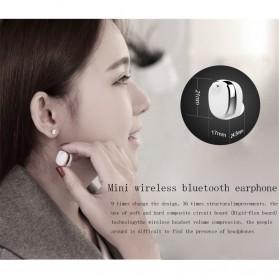 Mifo U0 Mini Earphone Wireless Bluetooth HD Sound Waterproof - Silver - 5
