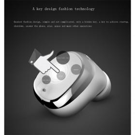Mifo U0 Mini Earphone Wireless Bluetooth HD Sound Waterproof - Silver - 8