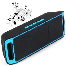 Yinew Speaker Bluetooth Stereo A2DP - SC-208 - Blue