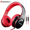 Headphone & Headset Bluetooth - Beevo HiFi Super Bass Headphone dengan Mic - BV-HM740 - Black