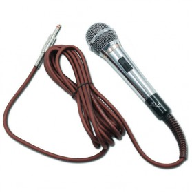 JIY Mikrofon Karaoke Moving Coil 6.5mm - YL-260 - Silver