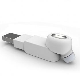 Ultra Mini Wireless Bluetooth Earphone - Black - 2