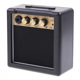 Amplifier Mini Gitar Elektrik 3W - PG-3 - Black - 2