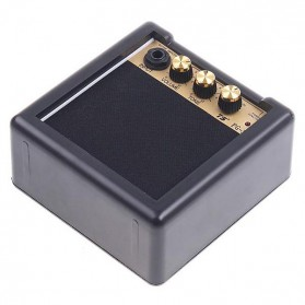 Amplifier Mini Gitar Elektrik 3W - PG-3 - Black - 3