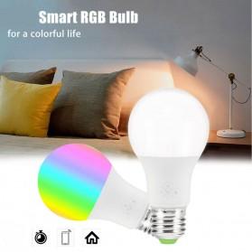 FLYIDEA Smart Light Bulb Bluetooth Bohlam LED RGB E27 4.5W - SMD4014 - White