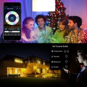 FLYIDEA Smart Light Bulb Bluetooth Bohlam LED RGB E27 4.5W - SMD4014 - White - 5