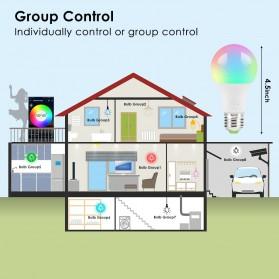 FLYIDEA Smart Light Bulb Bluetooth Bohlam LED RGB E27 4.5W - SMD4014 - White - 6