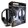 Headphone & Headset - XBS Headphone 5 in 1 Wireless Radio FM Receiver - MH2001 - Black