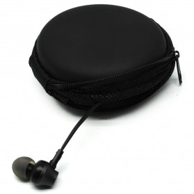 Earphone Hard Case EVA - LHJ - Black