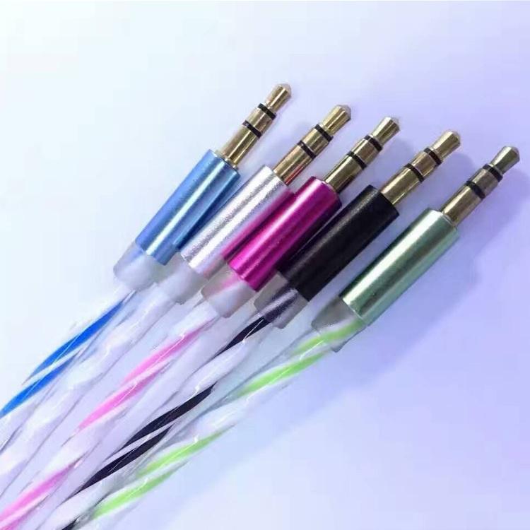 Kabel AUX 3 5mm HiFi Rainbow Black 3 .