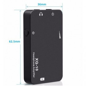 xDuoo XQ-10 Portable Amplifier - Black - 3