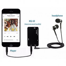 xDuoo XQ-10 Portable Amplifier - Black - 4