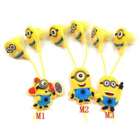 Earphone Minion - Yellow