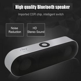 NBY Portable Bluetooth Speaker dengan Port USB Micro SD Slot - NBY-18 - Black - 2