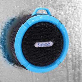 Taffware Mini Outdoor Bluetooth Speaker - C6 - Blue