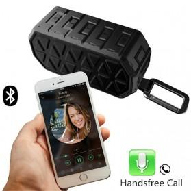 Askmeer X8 Portable Bluetooth Speaker Waterproof IPX66 - Black - 2