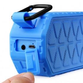 Askmeer X8 Portable Bluetooth Speaker Waterproof IPX66 - Black - 3