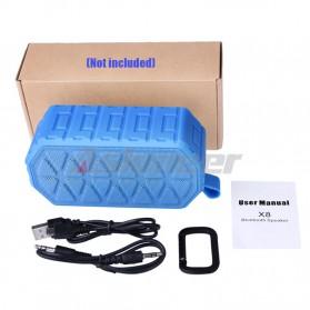 Askmeer X8 Portable Bluetooth Speaker Waterproof IPX66 - Black - 6
