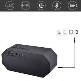 Portable Bluetooth Speaker Colorful LED Light - ES-E925 - Black - 4