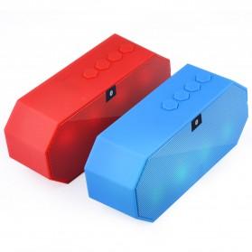 Portable Bluetooth Speaker Colorful LED Light - ES-E925 - Black - 5