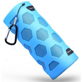 Portable Bluetooth Speaker NFC with Power Bank 4000mAh - Blue