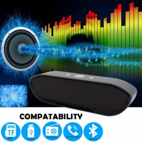 Portable Bluetooth Speaker Super Bass - CY-01 - Black