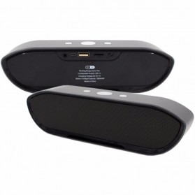 Portable Bluetooth Speaker Super Bass - CY-01 - Black - 6