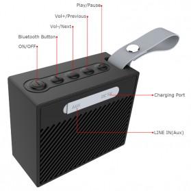 BearBizz X9 Wireless Bluetooth Speaker Waterproof IP66 - Black - 2