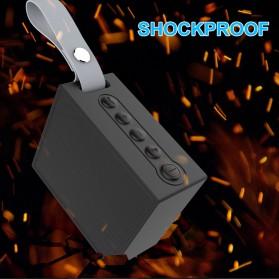 BearBizz X9 Wireless Bluetooth Speaker Waterproof IP66 - Black - 7