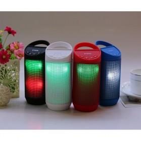 Speaker Bluetooth LED dengan FM Radio - BT809L - Black - 3