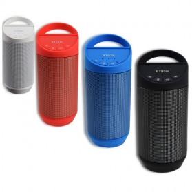 Speaker Bluetooth LED dengan FM Radio - BT809L - Black - 5