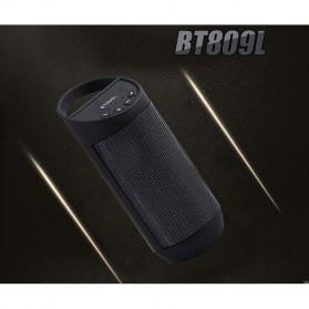 Speaker Bluetooth LED dengan FM Radio - BT809L - Black - 6