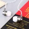 Super Bass Earphone 10mm Driver - White/Silver