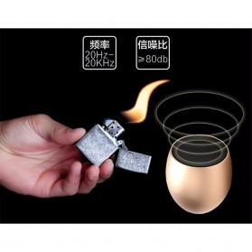 Egg Bluetooth Speaker - E5 - Gray - 3
