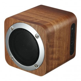 Recable Wooden Mini Bluetooth Speaker - IXB-B06 - Multi-Color