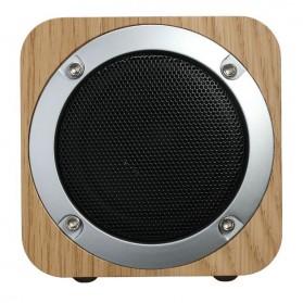 Recable Wooden Mini Bluetooth Speaker - IXB-B06 - Multi-Color - 6