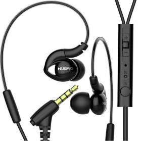 NUBWO NY51 Bass Earphone with Mic - Black