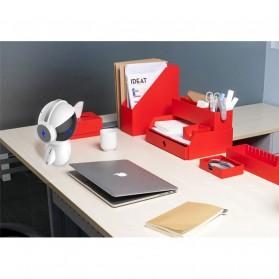 DINGDANG 2 in 1 Speaker Bluetooth Portable + Power Bank Model Robot - M10 - White - 6
