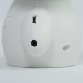 DINGDANG 2 in 1 Speaker Bluetooth Portable + Power Bank Model Robot - M10 - White - 11