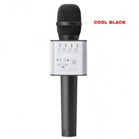 MICGEEK Magic Karaoke Mikrofon dan Speaker Bluetooth - Q9 - Black