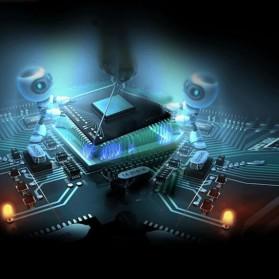 VIKEFON Wireless 2 in 1 HiFi Audio Bluetooth Transmitter & Receiver 3.5mm - B6 - Black - 4