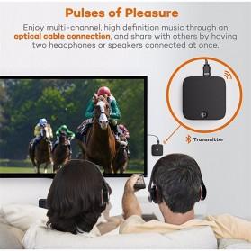 HiFi Audio Bluetooth Transmitter & Receiver 3.5mm SPDIF - SK-BTI-029 - Black - 3