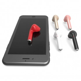 Mini Bluetooth 4.1 Earphone - i7 (Single Ear) - Black - 6