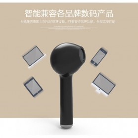 Mini Bluetooth 4.1 Earphone - i7 (Single Ear) - Black - 8