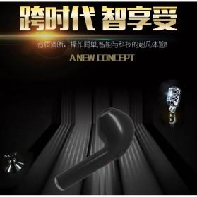 Mini Bluetooth 4.1 Earphone - i7 (Single Ear) - Black - 10