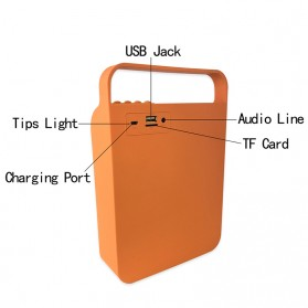 Cloth Bluetooth Speaker - Black - 2