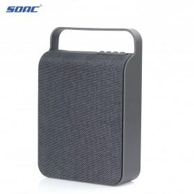 Cloth Bluetooth Speaker - Black - 4