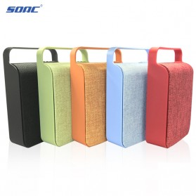 Cloth Bluetooth Speaker - Black - 6