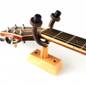 Hanger Gitar Wood Base - Black
