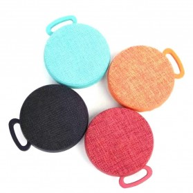 Mini Bluetooth Speaker Fabric - Black - 2